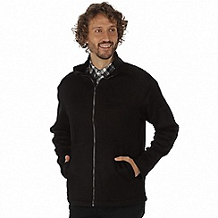 Regatta - Black 'Braden' lightly textured fleece