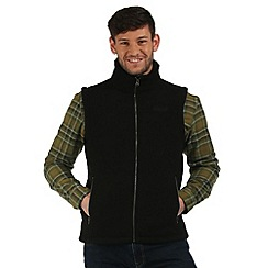 Regatta - Black Rafferty fleece body warmer