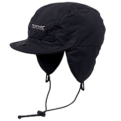 Regatta - Black mens waterproof igniter hat