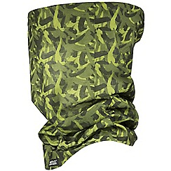 Regatta - Green printed multitube scarf