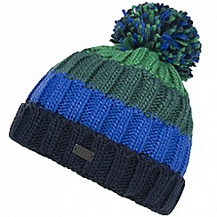 Regatta - Blue 'Daved' fleece hat