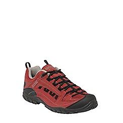 Regatta - Rhubarb red edgepoint shoe
