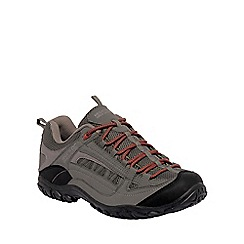 Regatta - Grey/orange edgepoint walking shoe