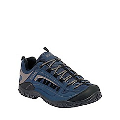 Regatta - Denim blue/grey edgepoint walking shoe