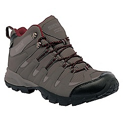 Regatta - Charcoal/rhubarb garsdale mid walking boot