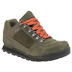 Regatta - Khaki/rust meresville low casual walking shoe
