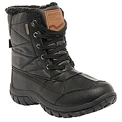 Regatta - Black stormfell boot