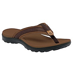 Regatta - Brown trailrider life flip flop