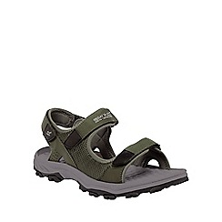 Regatta - Green terrarock casual walking sandal