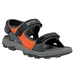 Regatta - Grey/orange terrarock casual walking sandal