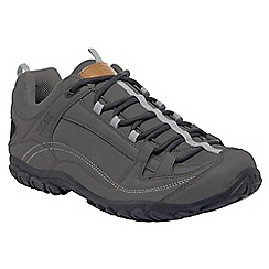 Regatta - Dark grey peakland casual walking shoe
