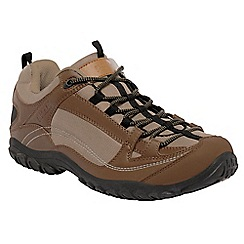 Regatta - Brown peakland casual walking shoe