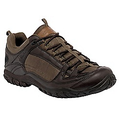 Regatta - Dark brown peakland casual walking shoe
