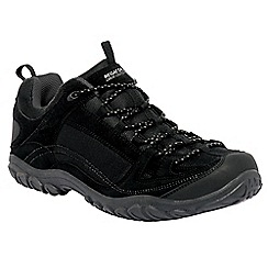 Regatta - Black peakland casual walking shoe