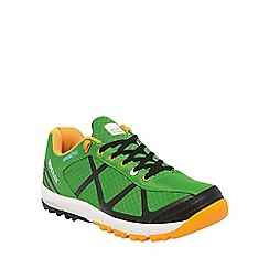 Regatta - Green hyper-trail low walking shoe
