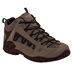 Regatta - Brown/bourbon edgepoint mid walking boot
