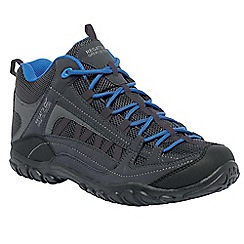 Regatta - Iron/oxford blue edgepoint mid walking boot