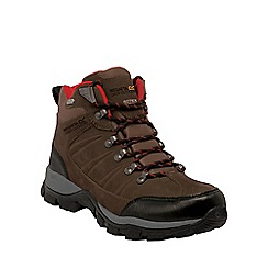 Regatta - Brown borderline mid hiking boot