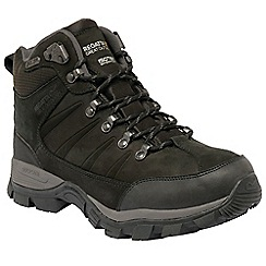 Regatta - Black Borderline mid hiking boot