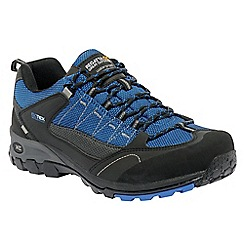 Regatta - Black/oxford blue ultra-max ii low casual walking shoe
