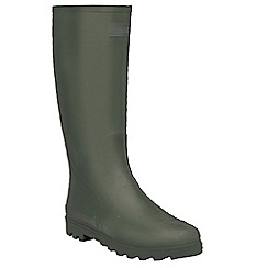 Regatta - Dark olive mumford welly