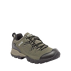 Regatta - Green holcombe walking shoe