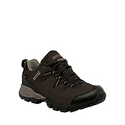 Regatta - Brown holcombe walking shoe