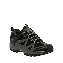 Regatta - Black gatlin walking shoe