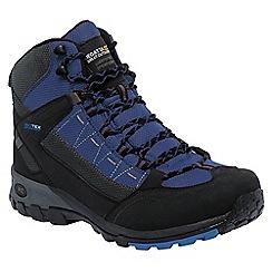 Regatta - Black/blue ultra-max walking boot