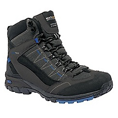 Regatta - Iron/oxford blue ultra-max ii mid walking boot