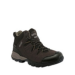Regatta - Brown holcombe walking boot
