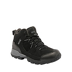 Regatta - Black holcombe walking boot
