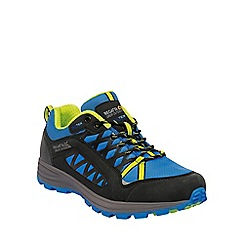 Regatta - Blue crosspeak waterproof hiking shoe