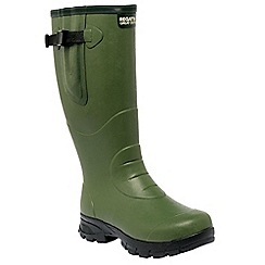 Regatta - Green Loxleigh wellington boots