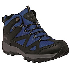 Regatta - Blue Gatlin mid hiking shoe