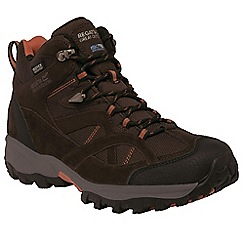 Regatta - Brown Alderson mid walking boot