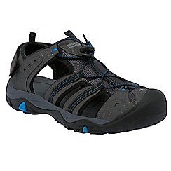 Regatta - Grey/blue backshore active sandal