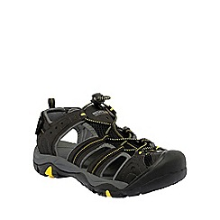 Regatta - Black/yellow backshore active sandal