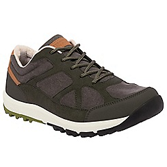 Regatta - Grey/green varane lightweight shoe