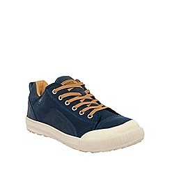 Regatta - Blue turnpike canvas plimsolls