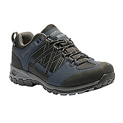 Regatta - Blue 'Samaris' hiking shoe