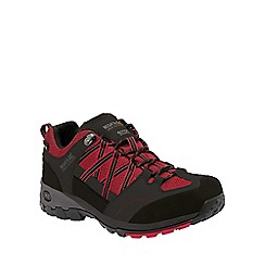 Regatta - Black/red samaris hiking shoe