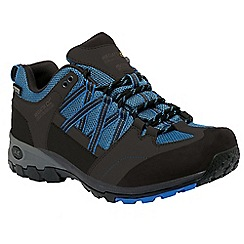 Regatta - Black/blue samaris hiking shoe