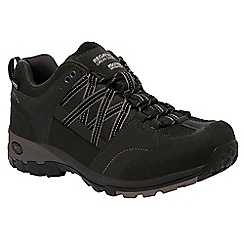 Regatta - Black/grey samaris hiking shoe