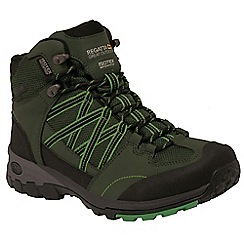Regatta - Green Samaris mid lightweight walking boot