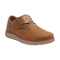 Regatta - Brown 'Caldbeck' leather shoe