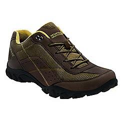 Regatta - Brown stonegate low shoes