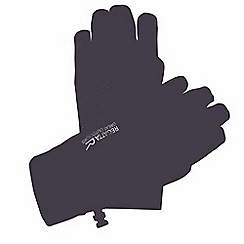 Regatta - Black mens touchtip stretch glove