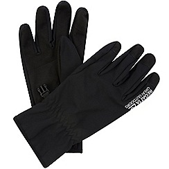 Regatta - Black soft shell gloves