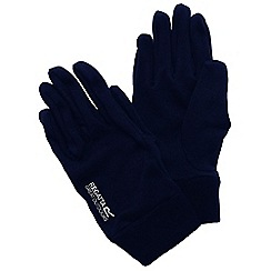 Regatta - Black mens extol gloves